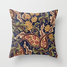 Beautiful Victorian Vintage Floral Pattern Throw Pillow