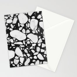 Onyx Terrazzo Stationery Cards