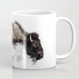 Bison Yellowstone Winter Coffee Mug