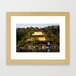 Kinkaku-ji Kyoto Japan Framed Art Print