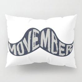 Movember! Pillow Sham
