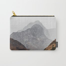Layered Mountains of Salkentay Pass Carry-All Pouch