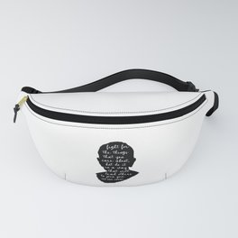 Ruth Bader Ginsburg Quote Fanny Pack