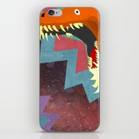 dinosaurs iPhone & iPod Skins featuring DINOSAURS by Cody Weber