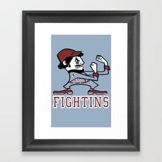 Fightins Framed Art Print