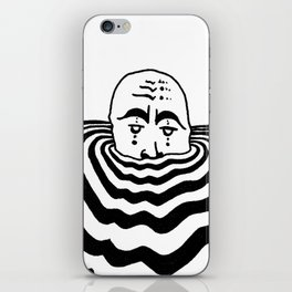 Ripples #1 iPhone Skin