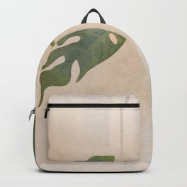 A Couple of Monstera Leaves Backpack