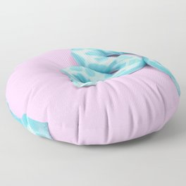 BLUE SNAKE Floor Pillow