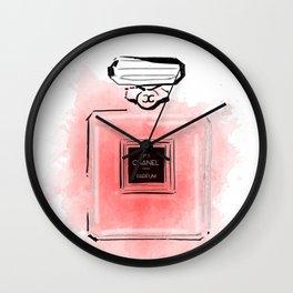 Red perfume #2 Wall Clock