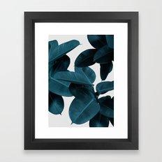 Foliage, Plant Leaves, Botanical Framed Art Print