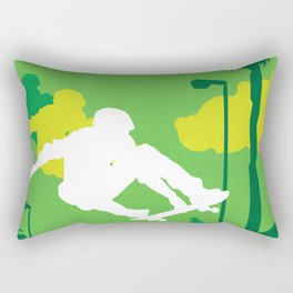 80s TEEN MOVIES :: GLEAMING THE CUBE Rectangular Pillow
