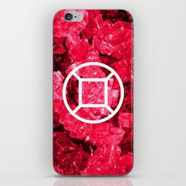 Ruby Candy Gem iPhone Skin