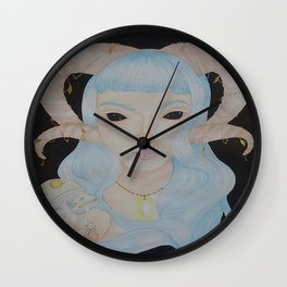 Psilocybe Wall Clock