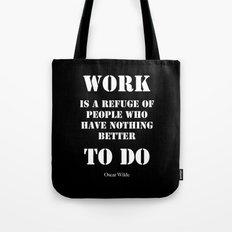 Work by Oscar Wilde Tote Bag