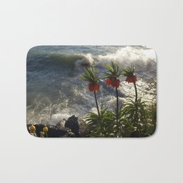 Lakeside Flowers III Bath Mat