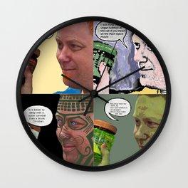 Good Clean Scandinavian Fun (Snuug? Waaaaaaaaaaaaaaah?) Wall Clock