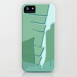 Abstract Banana Leaves One - Greener Eden iPhone Case
