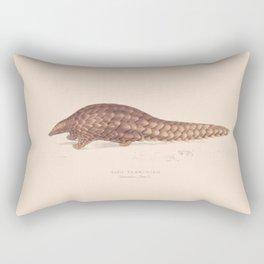 Vintage Pangolin Rectangular Pillow