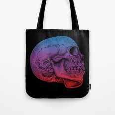 Rainbow Skull Joy Tote Bag