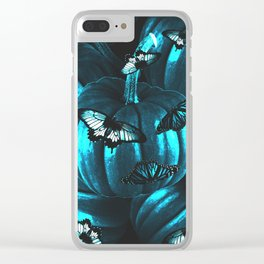 halloween tides 2 Clear iPhone Case