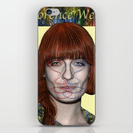 Florence in the garden iPhone Skin