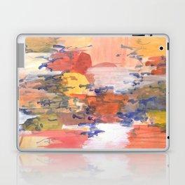 paisaje abstracto Laptop & iPad Skin