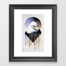 Wise Eagle Framed Art Print