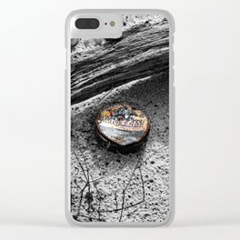 A Grizzly Ending Clear iPhone Case