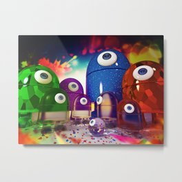 Android Family Metal Print