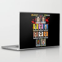 reservoir dogs Laptop & iPad Skins featuring 8 Bit Reservoir by Tom Burns