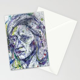 JOHN LOCKE watercolor and ink portrait.1 Stationery Cards
