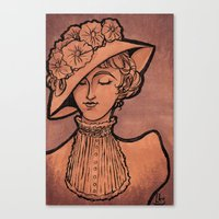 victorian Canvas Prints featuring Victorian by 1 of Many Laurens