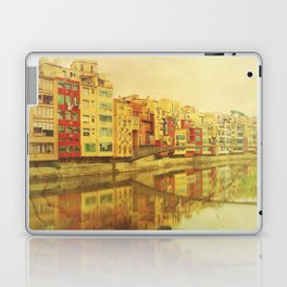 The river that reflects the city Laptop & iPad Skin