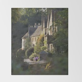 Not the manor Throw Blanket