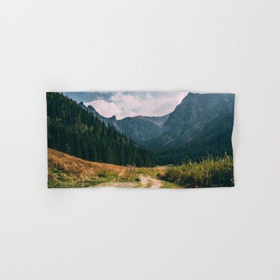 Sunny Mountain Valley Hand & Bath Towel