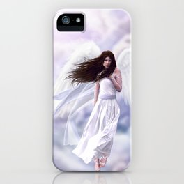 Some Clouds Have Wings iPhone Case