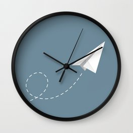 up to sky Wall Clock
