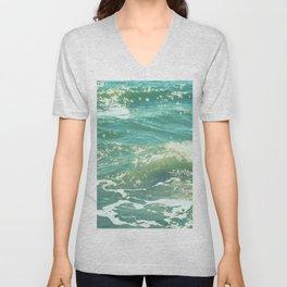 The Sparkling Sea Unisex V-Neck