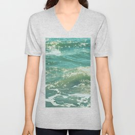The Sparkling Sea Unisex V-Neck