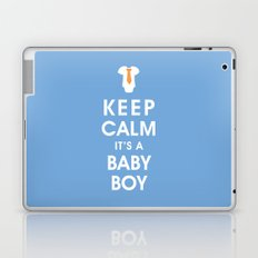 Keep Calm It's A Baby Boy Laptop & iPad Skin