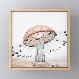 Mushroom Carousel Framed Mini Art Print