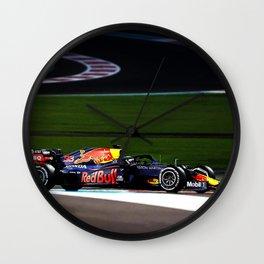Max Verstappen Wall Clock