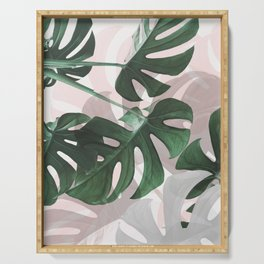 Monstera Play Serving Tray
