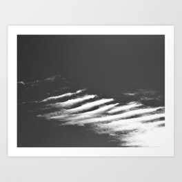 head in the clouds - Tina Stenford 16 Art Print