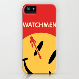 Who Watches Who? iPhone Case