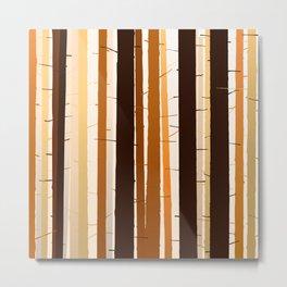 Bamboos Metal Print