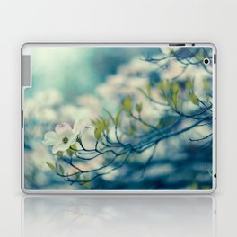 Dogwood Blossom Laptop & iPad Skin