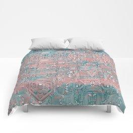 Circuitry Details 2 Comforters