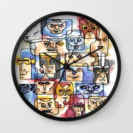 My Ex Friends Wall Clock