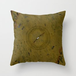 Camo Strobe Throw Pillow